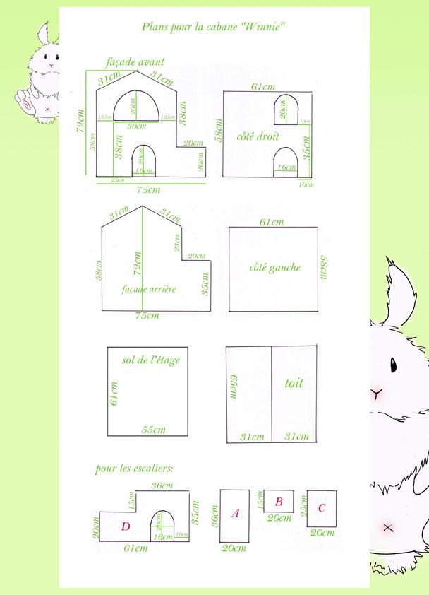 souvent Tuto cabane de Winnie - La dure vie du lapin urbain QZ92